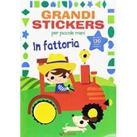 Libri EDICART - GRANDI STICKERS. IN FATTORIA