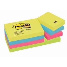 Foglietti Post it® 653 Colori Assortiti