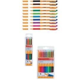Penna roller gel STABILO® pointVisco® colori assortiti