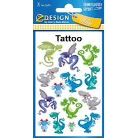Stickers DRAGHI TATOO