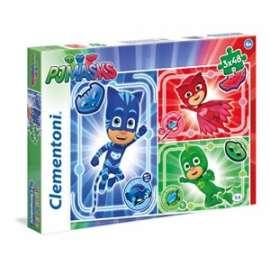 Giochi PUZZLE - 3x48 - PJ MASKS