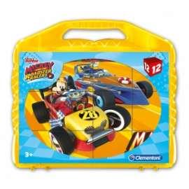 Giochi VALIGETTA 12 CUBI MICKEY ROADSTER RACERS
