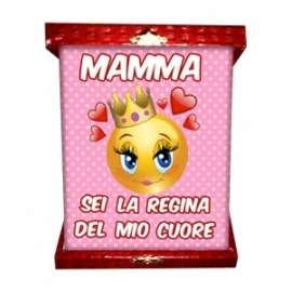 Festa della Mamma TARGA MAMMA SEI LA REGINA