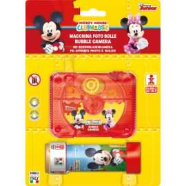 Giochi BUBBLE CAMERA MICKEY E MINNIE