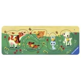 Giochi PUZZLE IN LEGNO AMICI ANIMALI
