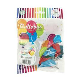 Party PALLONCINI MEDIUM ASSORTITI cm28 conf.16pz