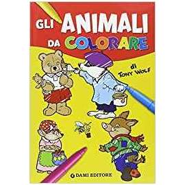 Libri DAMI EDITORE - ANIMALI DA COLORARE
