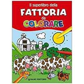 Libri DAMI EDITORE - FATTORIA DA COLORARE