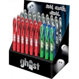 Pool Over - EXPO GHOST - 36 PENNE SCATTO (18blu + 12rosse + 3nere + 3verdi)