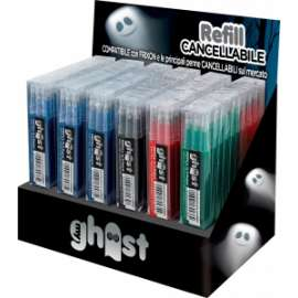 Pool Over - EXPO GHOST - 36 set 3pz   REFILL GHOST (18blu + 12rosse + 3nere + 3verdi)