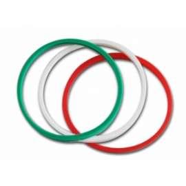 Calcio TRIS BRACCIALETTI IN SILICONE ITALIA