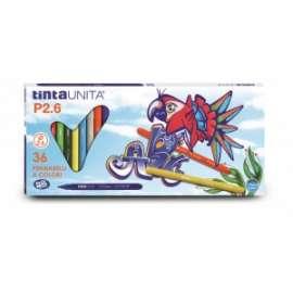 PENNARELLI DISEGNO TintaUnita conf.36colori .41826
