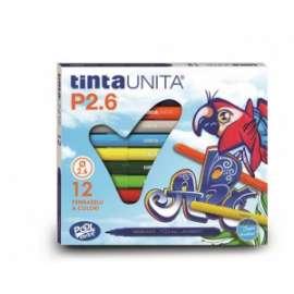 PENNARELLI DISEGNO GIGA TintaUnita conf.12colori .41822