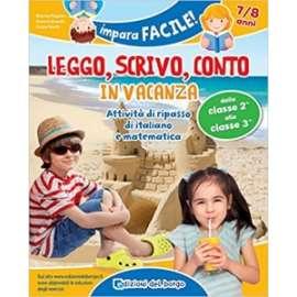 Libri EDIZIONI DEL BORGO - LEGGO SCRIVO CONTO 7/8 ANNI