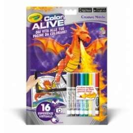 LIBRI  da Colorare CRAYOLA COLOR ALIVE (Realta Aumentata)  pvp.4,90 - CREATURE MITICHE