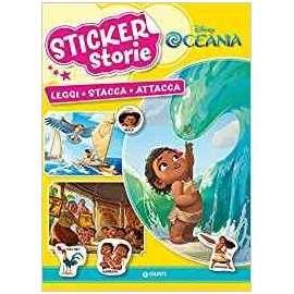 Libri WALT DISNEY - OCEANIA. STICKER STORIE