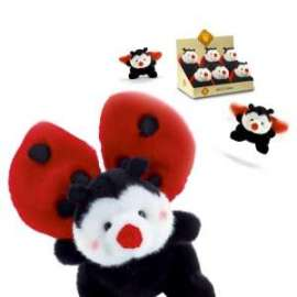 Peluche COCCINELLA LUCKY LADY 16cm