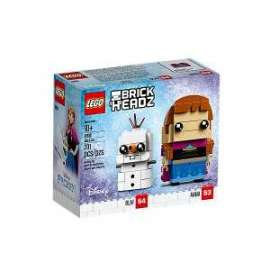 Giochi LEGO Brick Headz - 41618 - ANNA E OLAF