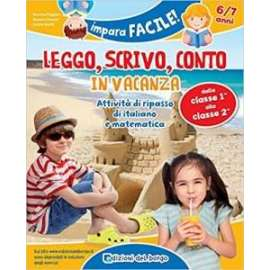 Libri EDIZIONI DEL BORGO - LEGGO SCRIVO CONTO 6/7 ANNI