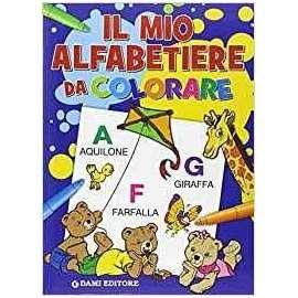 Libri DAMI EDITORE - ALFABETIERE DA COLORARE
