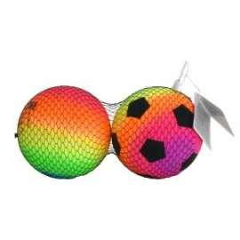 Giochi PALLE DA CALCIO/VOLLEY MULTICOLOR diam.13cm