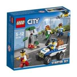 Giochi LEGO City - 60136 - STARTER SET POLIZIA