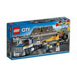 Giochi LEGO City - 60151 - TRASPORTATORE DI DRAGSTER
