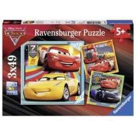 Giochi PUZZLE - 3x49 - CARS 3
