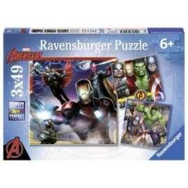 Giochi PUZZLE - 3x49 - AVENGERS
