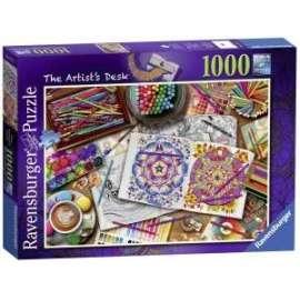 Giochi PUZZLE - 1000 - SCRIVANIA DELL ARTISTA