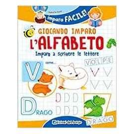 Libri EDIZIONI DEL BORGO - GIOCANDO IMPARO L ALFABETO