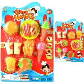 Giochi SET FAST FOOD C/GELATI