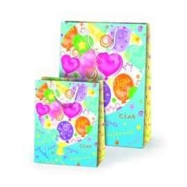 Shopper Carta 20,5x26x10 HAPPINESS conf.10pz