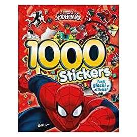 Libri WALT DISNEY MARVEL - SPIDERMAN 1000 STICKERS