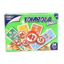 Giochi di Società TOMBOLA 24 CARTELLE