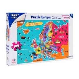 Giochi PUZZLE EUROPA 100pz