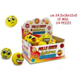 Giochi PALLINE ANTISTRESS SMILEY