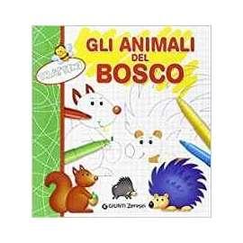 Libri GIUNTI - TRATTINI. GLI ANIMALI DEL BOSCO