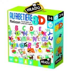 Giochi ALFABETIERE 3D MONTESSORI