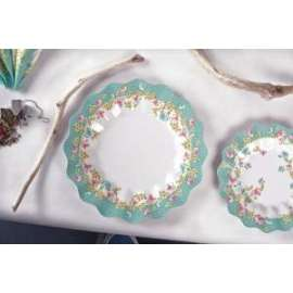 Party PIATTI diam.24cm SHABBY CHIC conf.10pz