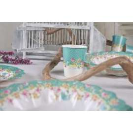 Party BICCHIERI 250cc SHABBY CHIC conf.10pz