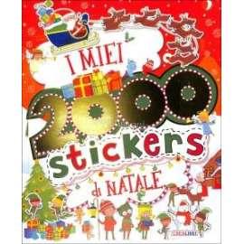 Libri EDICART - 2000 STICKERS DI NATALE