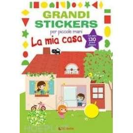 Libri EDICART - GRANDI STICKERS. LA MIA CASA