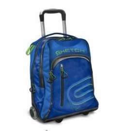 *A&F 16 - SOLID COLOR - TROLLEY - one wheel  BLU