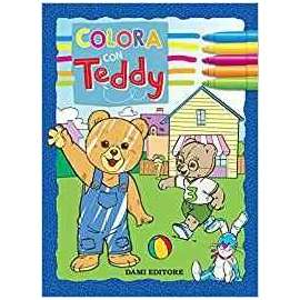 Libri DAMI EDITORE - COLORA CON TEDDY