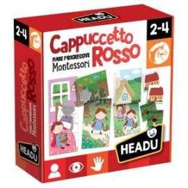 Giochi FIABE MONTESSORI CAPPUCCETTO ROSSO