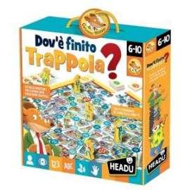 Giochi G.STILTON - DOVE è FINITO TRAPPOLA?