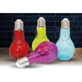 LAMPADINA COLORATA C/LUCE LED 18cm