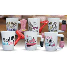 TAZZA MUG FASHION LADY