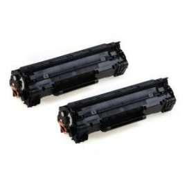 HP TONER ** NERO 85A kit 2 pz CE285AD